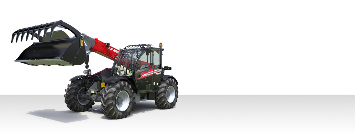 Massey Ferguson Materialtransport - Industrie News