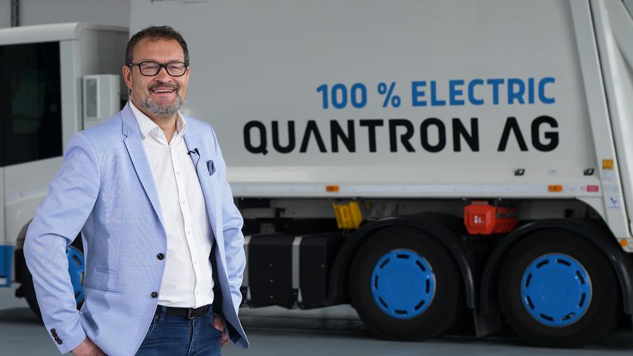 Michael Perschke, seit September 2021 CEO und Vorstand der Quantron AG