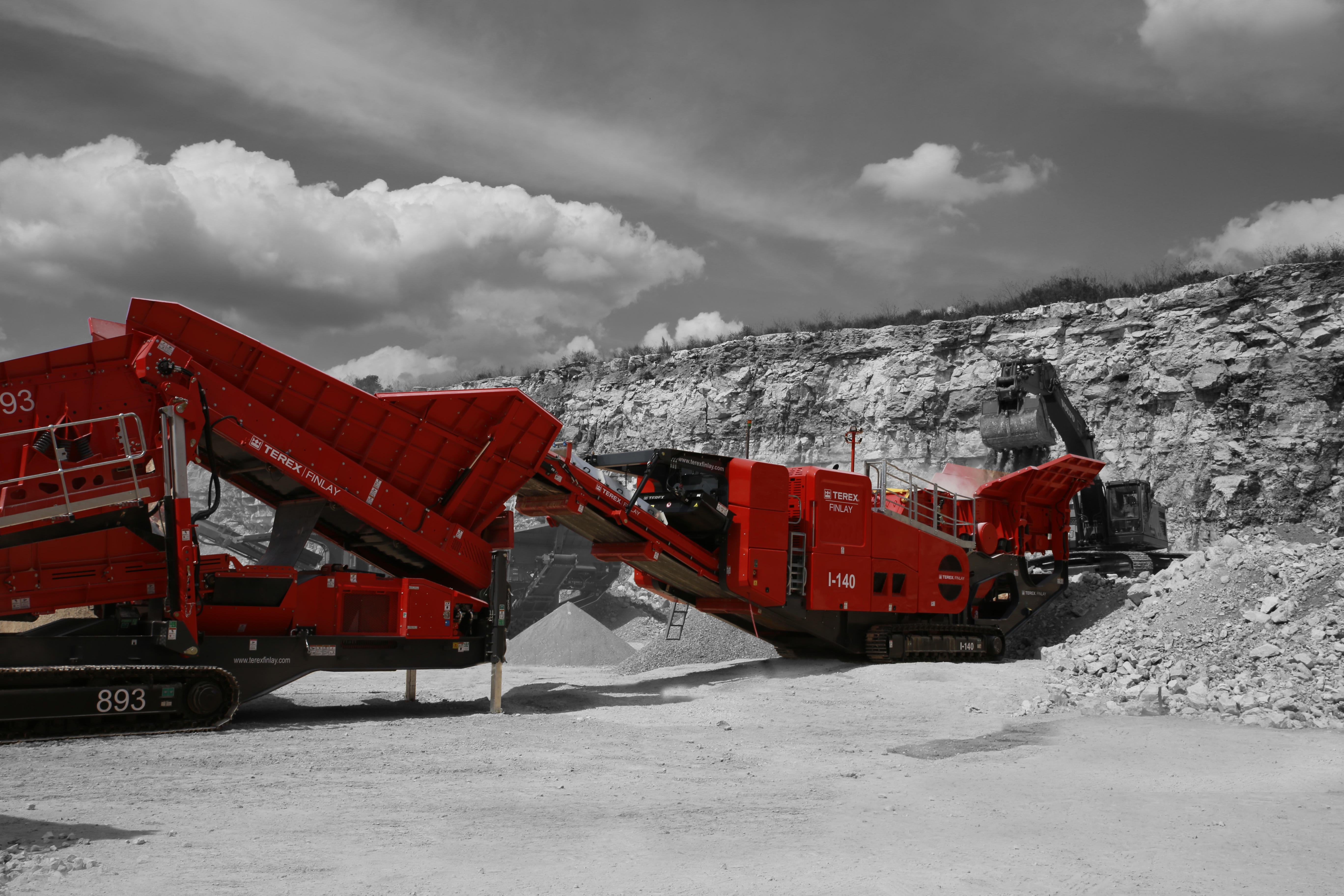 Terex Finlay (Mobile processing Equipment)