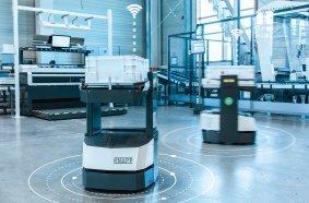 Digitale Technologien ermöglichen eine intelligente Vernetzung der Software mit dem logistischen System.