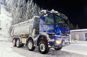 Mercedes-Benz Arocs im Einsatz beim Biathlon-Weltcup in Oberhof