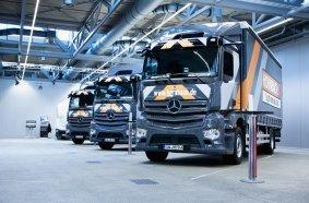 34 neue Lkw für den Logistik-Fuhrpark: Hornbach setzt auf den Mercedes-Benz Actros