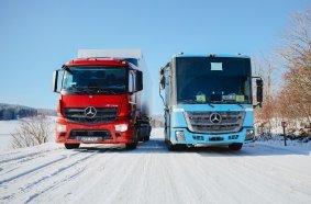Mercedes-Benz eActros & eEconic im Wintertest