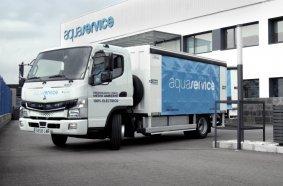 Hola, FUSO eCanter! Daimler Trucks' batterieelektrischer Stadt-Lkw debütiert in Spanien