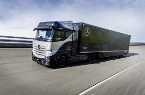 Daimler Trucks startet intensive Tests seines Brennstoffzellen-Lkw