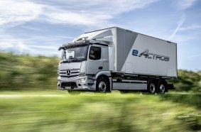 E-Lkw ab sofort in Serie: Produktionsstart des batterieelektrisch angetriebenen eActros im Mercedes-Benz Werk Wörth