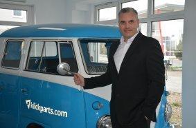 klickparts-Geschäftsführer Stephan Bäumler freut sich über das Erreichte und hat für die Zukunft ehrgeizige Ziele.