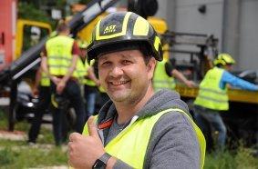 Christian Burkard, Inhaber der Abschleppdienst Kühn GmbH, stärkt und fördert mit dem Seminar die täglichen Kontrollen seiner 25 Bergefahrzeuge durch seine Werkstattteams.