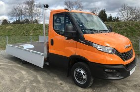 IVECO Daily Tiefbettpritsche