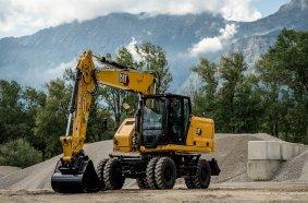 Der neue Cat M316 mit 110 kW (148 PS) und 17 bis 18,5 Tonnen Einsatzgewicht. Foto: Caterpillar