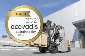 Goldstatus für den Hamburger Intralogistiker: Die STILL GmbH stellte sich auch in diesem Jahr wieder der Nachhaltigkeitsprüfung der internationalen Bewertungsplattform EcoVadis und erhielt nun das Zertifikat in Gold.