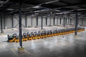 Jungheinrich-Flotte für BLG Logistics in Erfurt