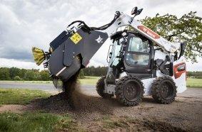 Bobcat bringt neue Kehrmaschinenaufsätze auf den Markt