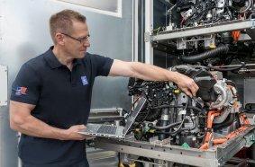Brennstoffzelle Fuel Cell Demonstrator Rolls-Royce Power Systems