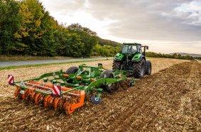 Der Ceus überzeugt durch seine Präzision und Vielseitigkeit sowohl für die Stoppel- als auch Grundbodenbearbeitung, die tiefe Lockerung und die Saatbettbereitung, insbesondere bei viel Organik.