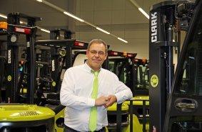 Olivier Bellissan, Niederlassungsleiter der Clark France SARL in Saint-Quentin-Fallavier