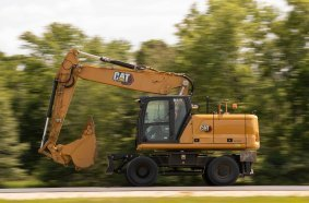 neue Cat®-Mobilbagger M320