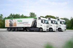 Beim Reifenmanagement setzt die HaGe Logistik GmbH auf den Conti360°-Servicevertrag mit runderneuerten Reifen.