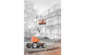 Ab sofort hat die Baumaschinen-Mietplattform Digando.com auch Arbeitsbühnen im Sortiment.  Foto: Digando GmbH
