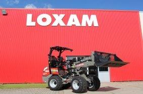 Elektrische GIANT-Radlader für Loxam