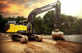 engcon Machine Link Dig Assist Volvo