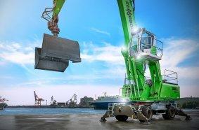 SENNEBOGEN stellt die neue G-Serie vor. Der SENNEBOGEN 835 G Hybrid verfügt über das bewährte Green Hybrid Energierückgewinnungssystem und ist auf der MATEXPO und Nordbau erstmals zu sehen.