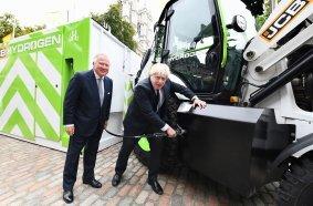 Super-Effizienter Jcb Wasserstoffmotor Erhält 100-Millionen-£-Spritze