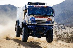 #509 Mardeev Airat (rus), Svistunov Dmitriy (rus), Galiautdinov Akhmet (rus), Kamaz, Kamaz - Master, Camion, Truck, action during the shakedown of the Dakar 2021 in Jeddah, Saudi Arabia on December 31, 2021 - Photo Florent Gooden / DPPI