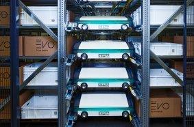 Knorr-Bremse in Mödling versorgt Produktion und Niederlassungen mit Kleinteilen aus multifunktionaler Shuttle-Anlage