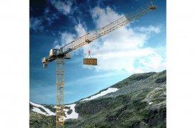 Der neue Flat-Top-Kran 205 EC-B 10 von Liebherr