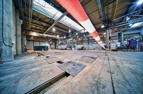 Baubeginn bei DOLL in Oppenau: Das neue Zentrum für Oberflächenbeschichtung soll im 2. Quartal 2021 in Betrieb gehen.