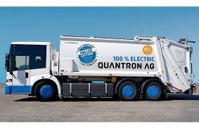 Das elektrische Müllentsorgungsfahrzeug QHB 27-280 der Quantron AG, ab sofort mit 5 Jahren Garantie