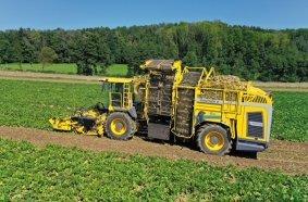 ROPA Panther 2S – Der weltweit leistungsstärkste zweiachsige Zuckerrübenroder von ROPA – ein echtes Arbeitstier