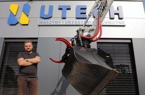 """Überzeugt: """"Bei der Wahl des Schwenkrotators kommt für uns nur  Rototilt in Frage"""", sagt Jaroslaw Koenig, CEO von Utech, dem neuen  Vertriebspartner von Rototilt in Polen."""