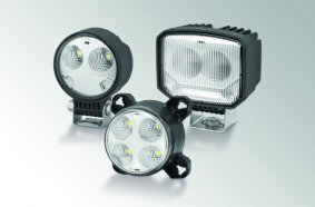 Die S-Serie ergänzt die bestehenden Arbeitsscheinwerfer-Familien Modul 70, Modul 90 und Power Beam.