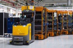 Jungheinrich automatisiert Produktionsversorgung für Audi Hungaria