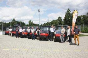 Ab sofort mehr Elektromobilität auf den Sportanlagen in Frankfurt