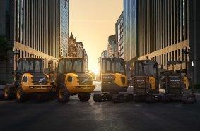 Volvo CE treibt eine nachhaltige Zukunft mit dem größten Angebot an  elektrischen Baumaschinen an