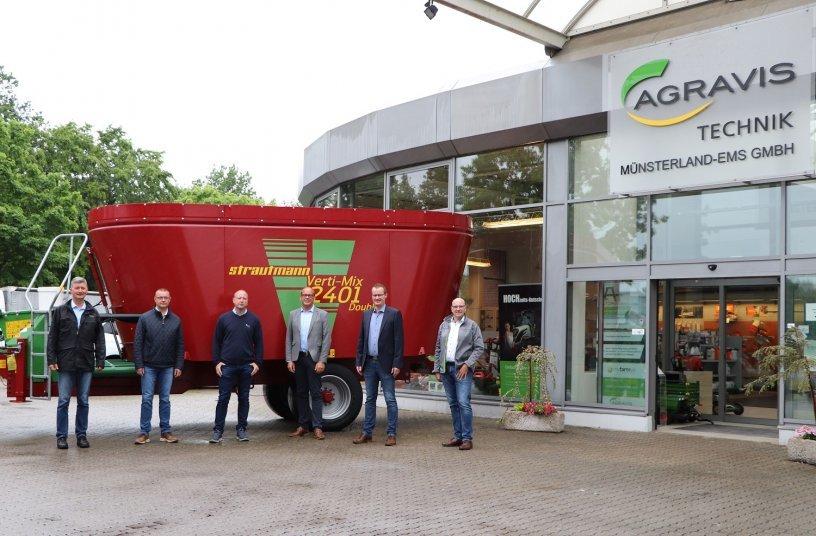 AGRAVIS Technik Münsterland-Ems GmbH und Strautmann intensivieren die Zusammenarbeit