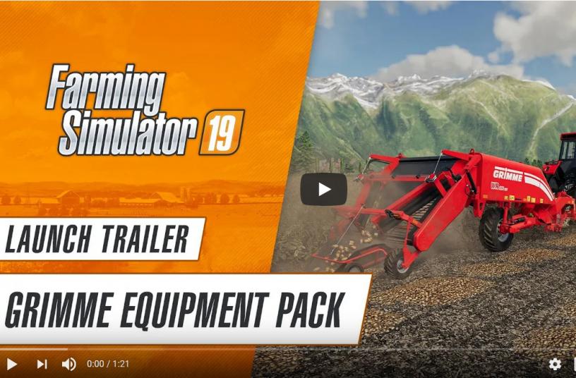 GRIMME Equipment Pack: Von Moddern entwickelte KartoffelErgänzung zum Landwirtschafts-Simulator 19 ab heute erhältlich