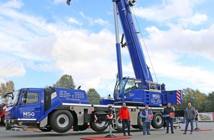 Grove GMK-Duo auf vier und fünf Achsen verstärkt Fuhrpark der MSG Krandienst GmbH