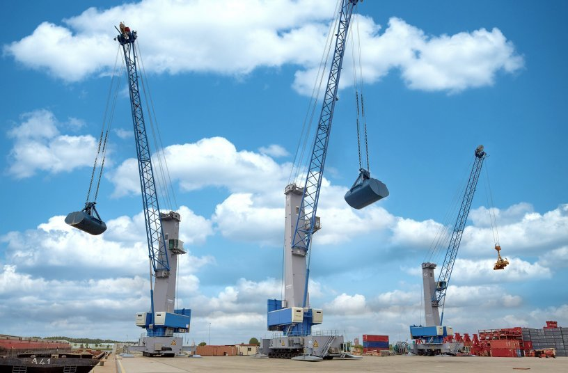 Konecranes stattet Hafenmobilkrane der neuen Generation 6 mit Zukunftscode aus