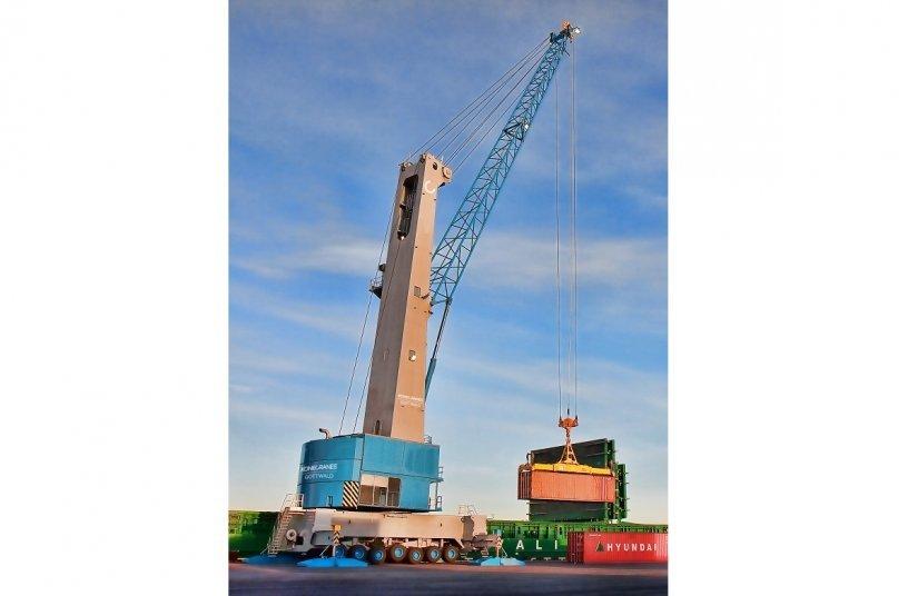 Hafen in Kamerun bestellt zwei Konecranes Gottwald Hafenmobilkrane, um Produktivität und Umschlagskapazität zu steigern