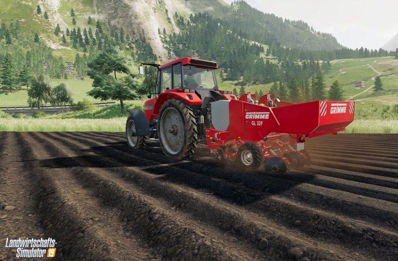 Rund um die Kartoffel: GRIMME Equipment Pack als digitaler Zuwachs für Landwirtschafts-Simulator 19 angekündigt