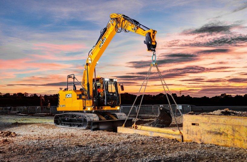 JCB Kettenbagger 140X, 150X & 220X upgrade mit Stufe V-Motoren