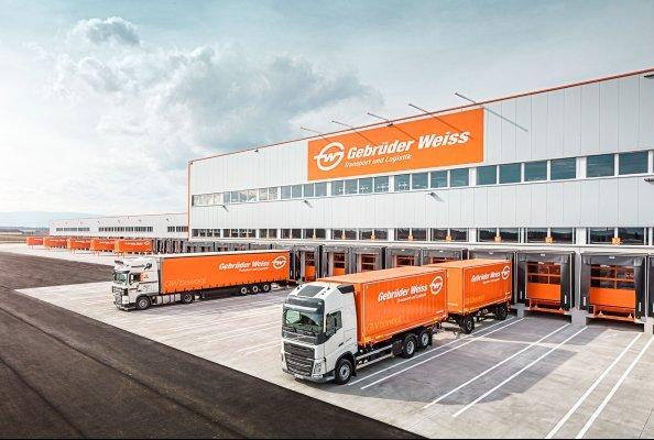 Gebrüder Weiss hat in Kalsdorf bei Graz einen neuen Standort eröffnet. (Quelle: Gebrüder Weiss / Wolfgang Croce)