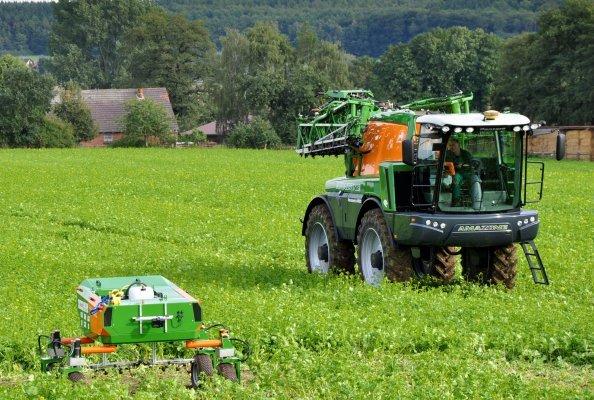 Auf Basis innovativer Agrartechnologie erforscht das Projekt Agri-Gaia den Einsatz von KI in der Landwirtschaft. Copyright: Hochschule Osnabrück