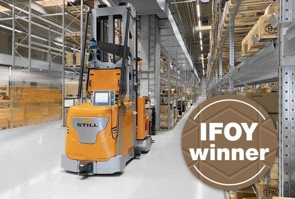 Das neue Produktionslager bei Danfoss Power Electronics A/S überzeugte sowohl den Kunden als auch die IFOY-Jury mit bedarfsgerechter Projekt-Automatisierung und smarten KI gestützten Tools.