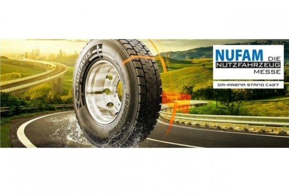 Bridgestone präsentiert das innovative Produktportfolio seiner Premium-Nutzfahrzeugreifen.