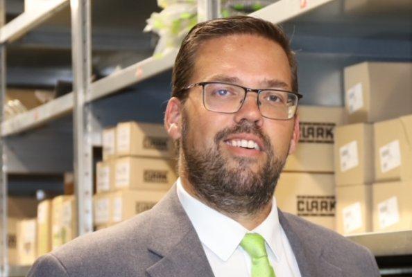 Andy Baldy ist neuer Direktor Parts Sales & Admin bei Clark Europe in Duisburg